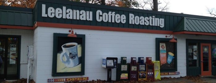 Leelanau Coffee Roasting Co. is one of Lieux qui ont plu à connie.