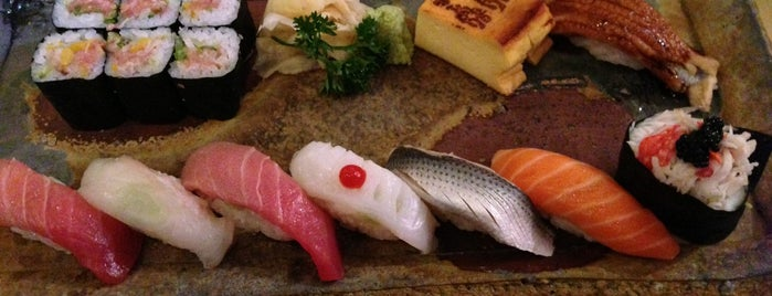 Sushi Zen is one of Japanese restaurants approved by the Japanese.