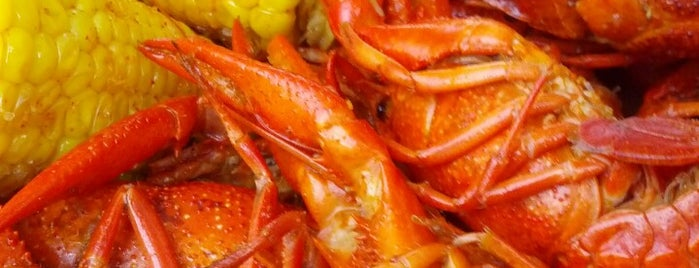 Hot N Juicy Crawfish is one of Justin'in Kaydettiği Mekanlar.