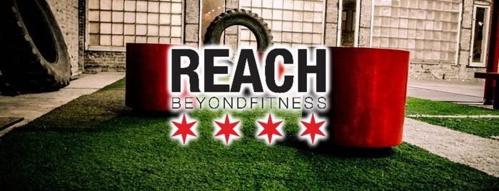 REACH: Beyond Fitness is one of Mary'ın Beğendiği Mekanlar.