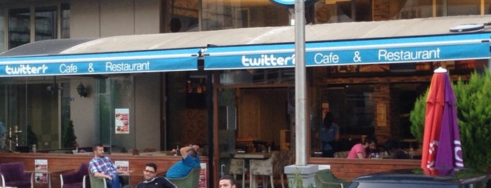 Twitter'r Cafe is one of Lieux sauvegardés par Hamed.