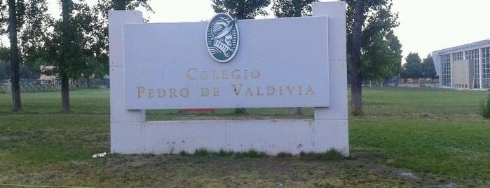 Colegio Pedro de Valdivia is one of Lieux qui ont plu à Andres.