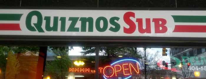 Quiznos is one of Lugares guardados de Holly.