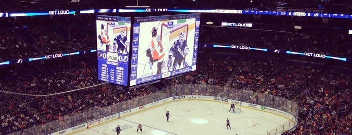 Amalie Arena is one of US Pro Sports Stadiums - ALL.