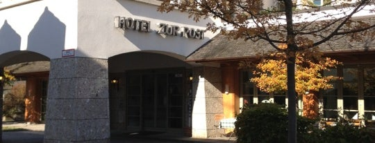 Hotel Gasthof Zur Post is one of Lugares favoritos de Rob.