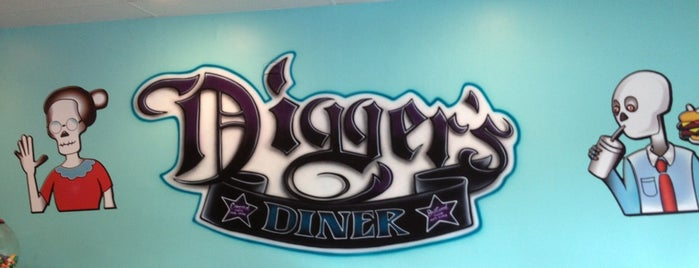 Digger's Diner Concord is one of California - The Golden State (Northern).