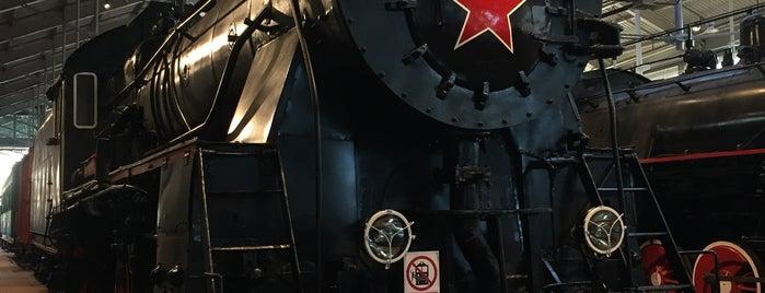Музей железных дорог России is one of СПб — музеи и интересные места.