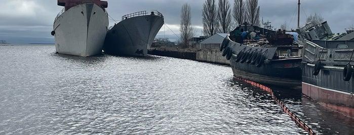 Кладбище военных кораблей is one of Калининград.