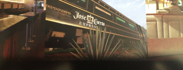 Jose Cuervo Express is one of Mexico City, Puebla, Cholula , Querétaro, Can.