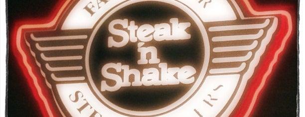 Steak 'n Shake is one of Mary 님이 저장한 장소.
