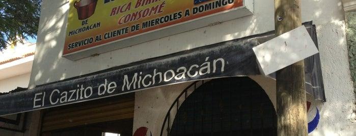 El Cazito de Michoacán is one of Comidas.