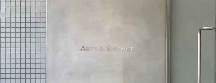 ARTS & SCIENCE is one of Japan.