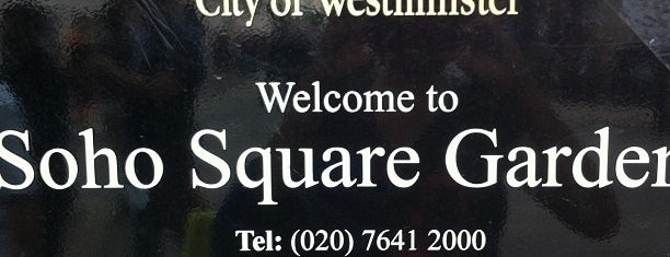 Soho Square is one of Places to Visit in London.