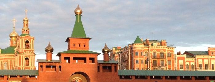 Царевококшайский Кремль is one of สถานที่ที่ Денис ถูกใจ.