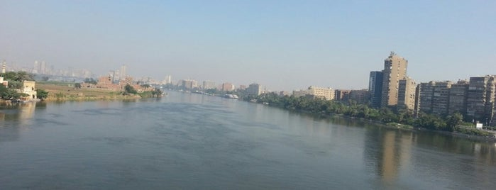 The Nile River is one of Egypt..