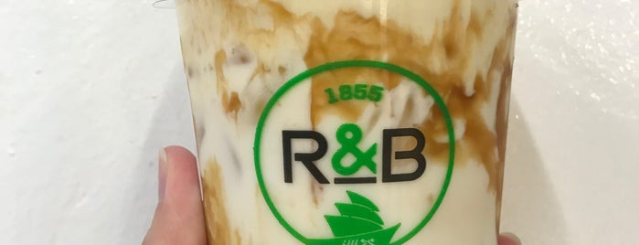 R&B Tea is one of Micheenli Guide: Popular/New bubble tea, Singapore.