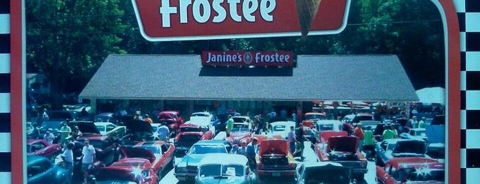 Janine's Frostee is one of Julia : понравившиеся места.