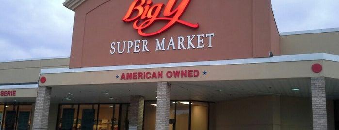 Big Y World Class Market is one of Mike : понравившиеся места.