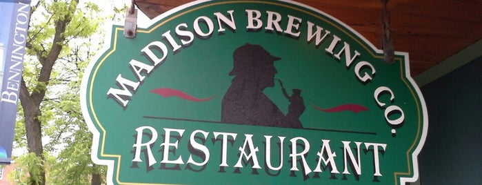 Madison Brewing Company Pub & Restaurant is one of My must visit brewery list.