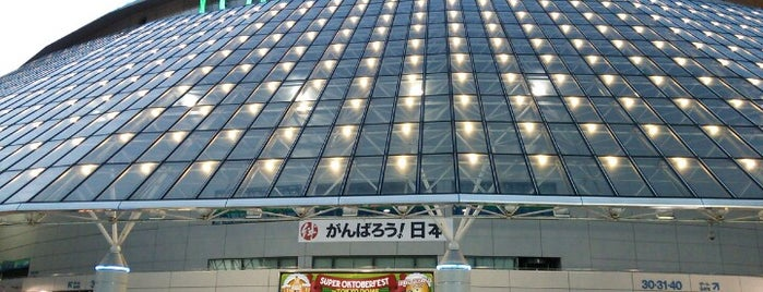 Tokyo Dome City is one of Lugares favoritos de 高井.