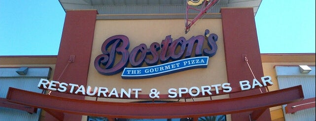 Boston's Restaurant & Sports Bar is one of south bay beach cities.