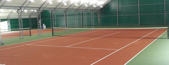 Atılım Universitesi Tenis Kortları is one of สถานที่ที่ Mekan ถูกใจ.