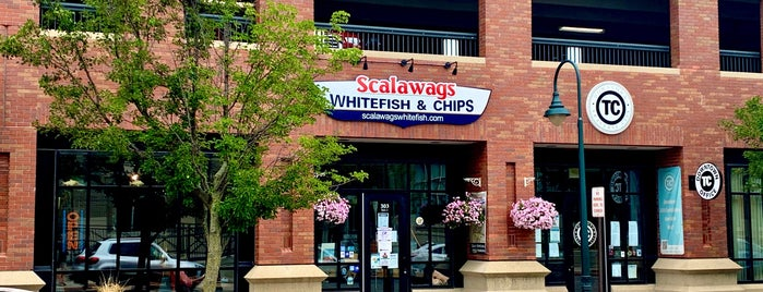 Scalawags White Fish & Chips is one of 2016 TC.