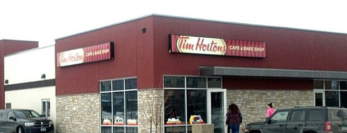 Tim Hortons is one of Amberさんのお気に入りスポット.