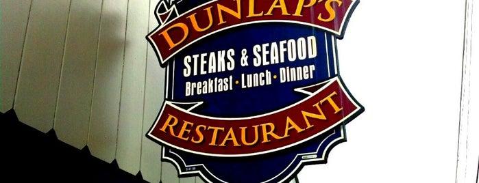 Dunlap's is one of Richard 님이 좋아한 장소.