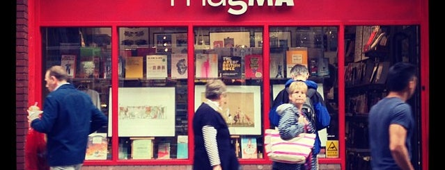 Magma Books is one of blighty sights.
