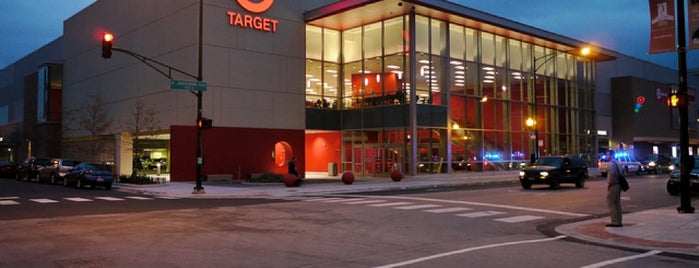 Target is one of CHICAGO 💜.
