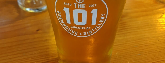The 101 Brewhouse + Distillery is one of สถานที่ที่ Michelle ถูกใจ.