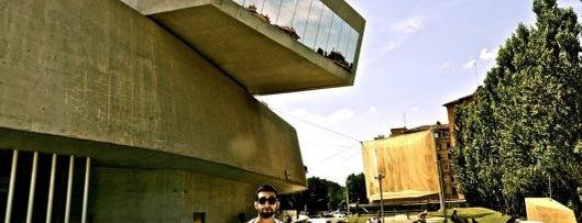 MAXXI Museo Nazionale delle Arti del XXI Secolo is one of Rome by Locals.