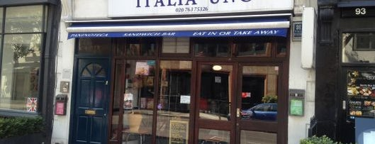 Italia Uno is one of London by Locals.