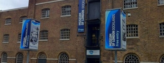 Museum of London Docklands is one of London by Locals.