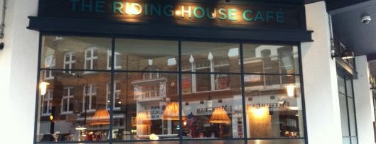 The Riding House Café is one of London by Locals.