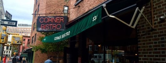 Corner Bistro is one of New York by Locals.