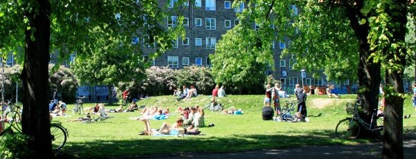 Nørrebroparken is one of Copenhagen.