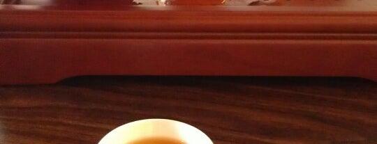 Red Robe Tea House & Café is one of Locais salvos de Caitie.