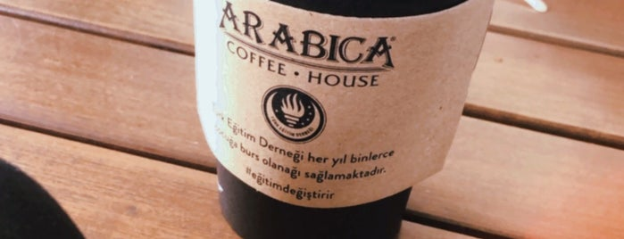 Arabica Coffee House is one of สถานที่ที่ Erdi ถูกใจ.