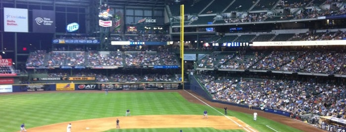Miller Park is one of Baseball Stadiums in U.S.A..