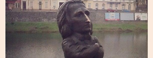 Пам'ятник Ференцу Лісту / Liszt Ferenc Monument is one of Міні-скульптури. УЖГОРОД!.