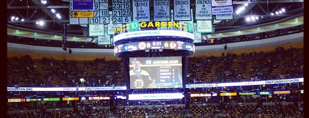 TD Garden is one of Hockey Arenas!.
