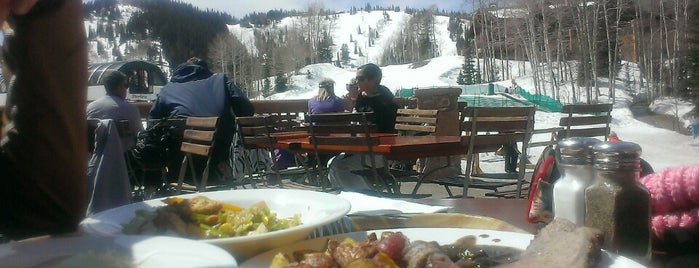 Silver Lake restaurant is one of Park City.