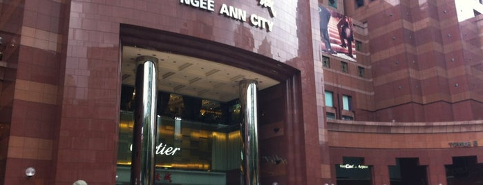 Ngee Ann City is one of Tempat yang Disukai Ian.