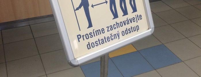 Česká pošta is one of Tempat yang Disukai Nikos.