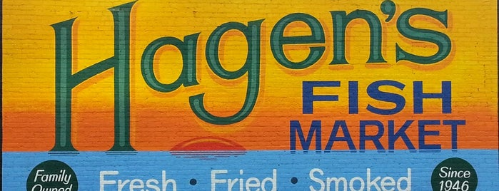 Hagen's Fish Market is one of Chicago food.