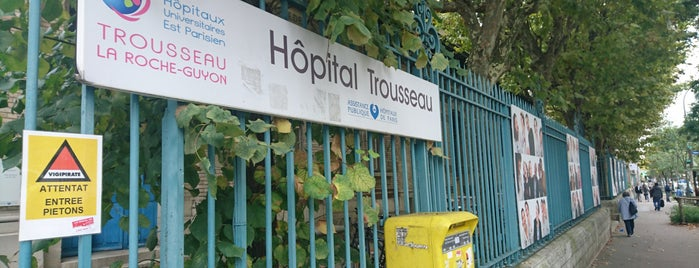 Hôpital Armand Trousseau is one of Guide des Maternités.