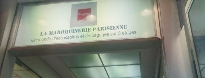 La Maroquinerie Parisienne is one of Essential shopping in Paris.