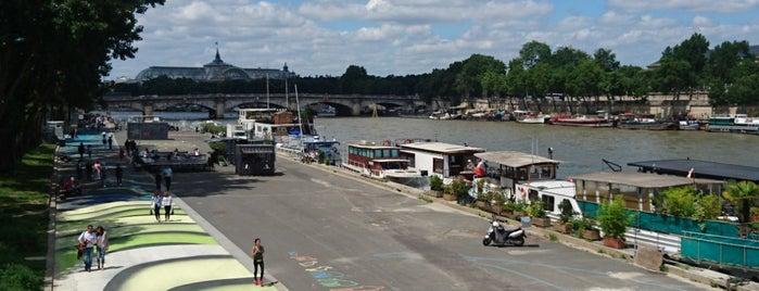 Promenade des Berges de la Seine – André Gorz is one of Tempat yang Disukai Richard.
